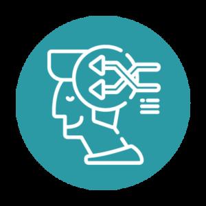 neurofeedback dynamique pictogram humain